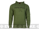 Magpul� Sweatshirt, Pull-Over Hoodie - Olive Heather / Large