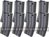 <b>JG / Echo1 / CYMA 300rd Metal Hi-Cap Magazine For M4/M16/L85/SCAR Series Airsoft AEG (Set of 8)</b>