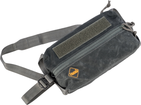 MagForce 10x5 Stationery Pouch (Color: Black / Waxed Canvas)