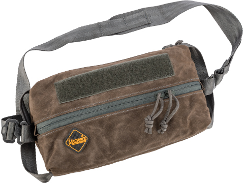 MagForce 10x5 Stationery Pouch (Color: Brown / Waxed Canvas)