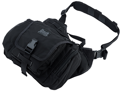 MagForce Saddledom Sling Bag (Color: Black)