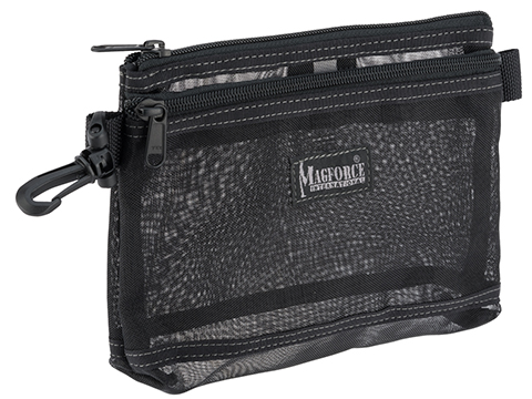 MagForce Mesh Collector Travel Pouch (Color: Black)