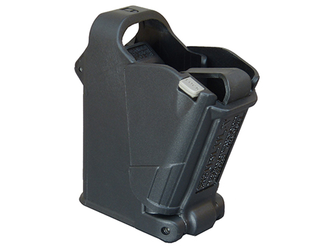 Maglula UpLULA 9mm to 45 ACP Universal Pistol Magazine Speed Loader (Color: Black)