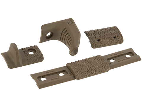 Magpul M-LOK Hand Stop Kit (Color: Flat Dark Earth)