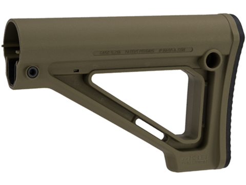 Magpul MOE Fixed Carbine Stock for Mil-Spec Buffer Tubes (Color: OD Green)