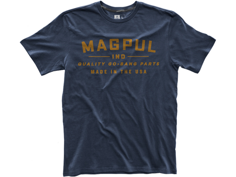Magpul Fine Cotton Go Bang T-Shirt (Size: Navy / Small)