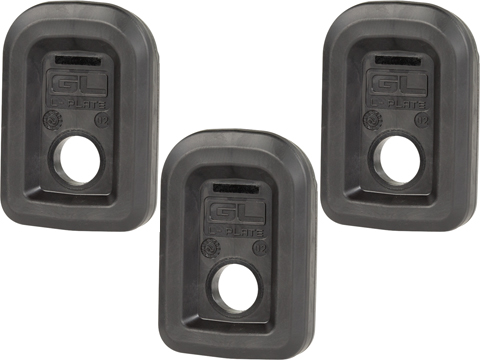 Magpul GLOCK GL L-Plate� for PMAG GL9 Magazines (Color: Black / 3 Pack)