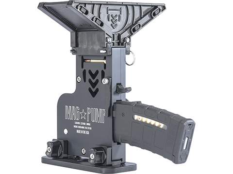 MAG PUMP .223 / 5.56 / .300 BLK AR-15 Magazine Loader (Model: Elite w/ MagDump)