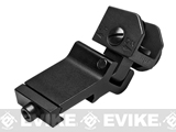 NcSTAR Tactical 45 Degree / One O'Clock Off-Set Rear Flip-Up Iron Sight - Black