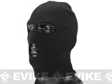 Matrix High Speed 3 Hole Cold Weather Balaclava / Ski Mask - Black