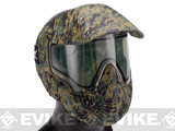 Pre-Order Estimated Arrival: 06/2013 --- Annex MI-7 Full Face Airsoft Paintball Mask with Thermal Lens - Marpat