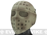 Avengers Wire Mesh Polymer Hockey Airsoft Full Face Mask - Tan