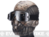 "Evike.com R-Custom Fiberglass ""Crysis"" Mask w/ Full Seal Goggles - Digital Desert"
