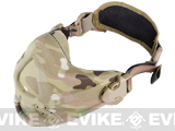 Matrix High Speed Lightweight Half Face Mask - (Land Camo)