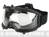 CYMA Polycarbonate Half-Mask Clear Lens Foam Seal Protection Goggle
