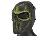 Matrix High Speed Wire Mesh Chastener Skull Mask - Swamp
