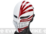Evike.com R-Custom Fiberglass Wire Mesh Hollow Mask Inspired by Bleach - White