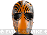 "Evike.com R-Custom Fiberglass Wire Mesh ""Code Name: Bravo"" Mask - Orange"