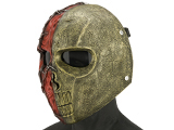 Evike.com R-Custom Fiberglass  Erebos Full Face Mask (Color: Copper / Smoked Lens)