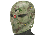 Evike.com R-Custom Fox 2.0 Fiberglass Mask w/ Wire Mesh (Color: Woodland Camo)