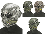 Evike.com R-Custom Fiberglass  Crysis Gunner Full Face Helmet with Grey Lens