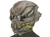 Evike.com R-Custom Fiberglass  Crysis Gunner Half Face Mask (Color: Desert / Clear Lens)