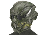 Evike.com R-Custom Fiberglass  Crysis Gunner Half Face Mask (Color: Woodland / Smoke Lens)