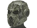 Evike.com R-Custom Hellghast Fiberglass Mask w/ Wire Mesh (Color: Highlander Green)