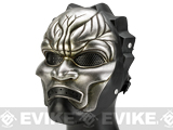 Evike.com R-Custom Fiberglass Wire Mesh Immortals Mask - Tarnished Silver