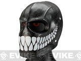 Evike.com R-Custom Fiberglass Wire Mesh Rios Trident Mask Inspired by Army of Two - Smile