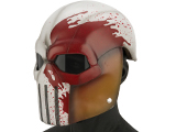Evike.com R-Custom Fiberglass  Task Master Full Face Mask (Color: Blood Seeker / Smoked Lens)