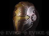 "Evike.com R-Custom Fiberglass Wire Mesh ""Gold Paladin"" Mask Inspired by Hellgate"