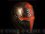 "Evike.com R-Custom Fiberglass Wire Mesh ""Orange Paladin"" Mask Inspired by Hellgate"