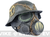 "Pre-Order Estimated Arrival: 05/2013 --- Evike.com R-Custom Fiberglass Wire Mesh ""Trooper"" Mask w/ Helmet"