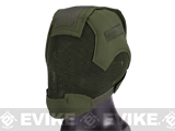 Matrix Striker Helmet Full Face Carbon Steel Mesh Mask (Color: OD Green)