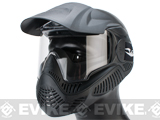 Annex MI-5 Airsoft Paintball Full Face Mask by Valken - Black (ANSI Rated)