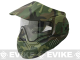Evike Annex MI-7 ANSI Rated Full Face Mask with Thermal Lens by Valken (Color: Woodland)