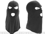 Matrix High Speed Three-Hole Balaclava Mask (Color: Black)