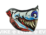 Zan Neoprene Half Face Mask - (Lethal Threat Wolf)