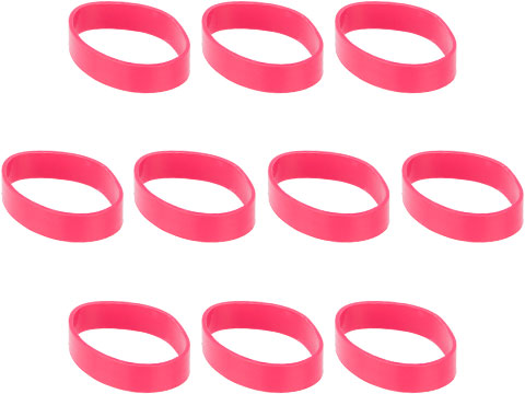 Matrix 10 Piece Ranger Band Set (Color: Red)
