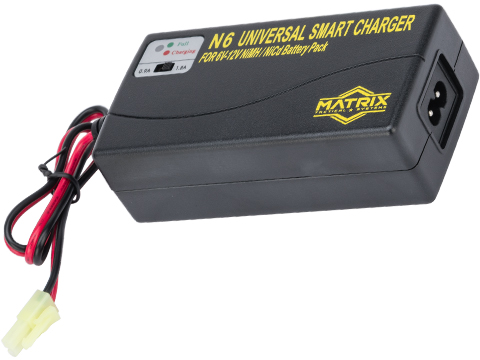 Matrix Universal Smart Charger for 6V-12V NiMh & NiCd Battery Packs w/ Deans T Adapter