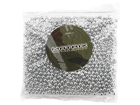Matrix 0.30g Aluminum 6mm Target BBs NOT FOR GAMING USE (Count: 2000 Rounds)