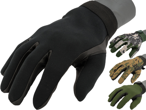 Matrix Special Forces Neoprene Tactical Gloves (Color: Black / Medium)