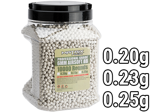 Matrix  Match Grade 6mm Airsoft BB Jar