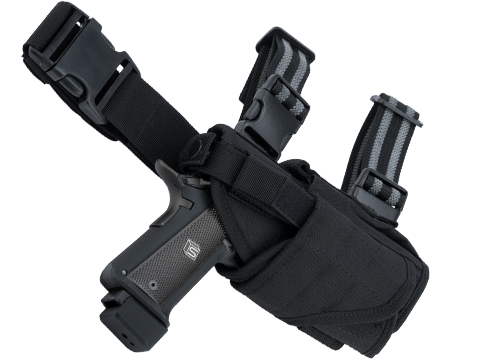 Matrix Tornado Universal Tactical Thigh / Drop Leg Holster (Color: Black / Right)