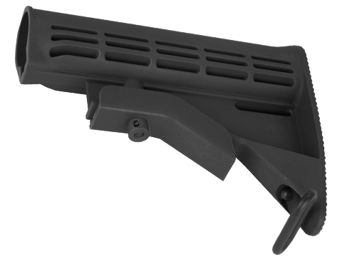 Matrix M4 Retractable LE Stock for M4 Series Airsoft Rifles (Color: Black)