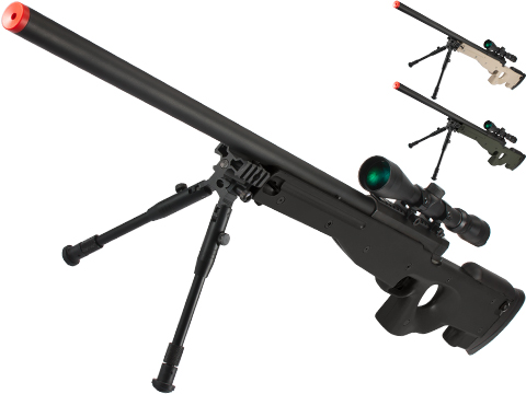 Shadow Op MB01 Type96 MK96 APS-2 Airsoft Bolt Action Sniper Rifle (Color: Black)