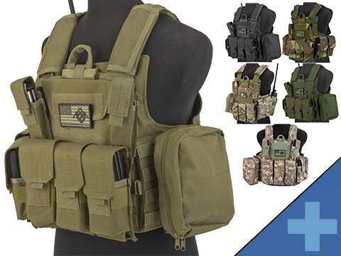 USMC Style C.I.R.A.S. Type Force Recon Tactical Vest