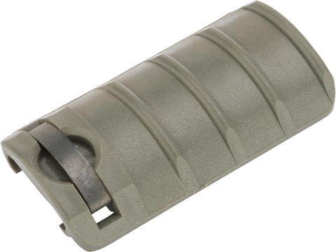 Matrix Special Force Rail Covers - 4 Ribs (Color: OD Green)