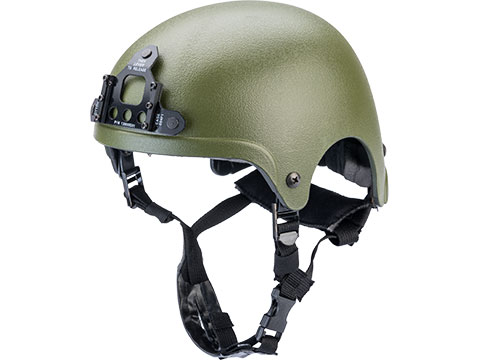 Matrix Light Weight IBH Airsoft Helmet w/ NVG Mount (Color: OD Green)
